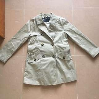 超新 Zara 乾濕褸 trench coat jacket