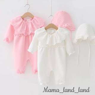 Lovely Baby Bodysuit Set
