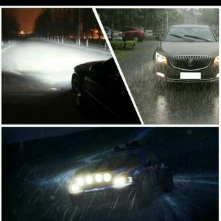 Car Light S2 H4 H7 H1 COB LED Headlight Bulbs H11 H13 12V 9005 9006 H3 9004 9007 9012 72W 8000LM Car LED lamp Fog Light 6500K