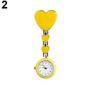 Nurse Watch Yellow Heart
