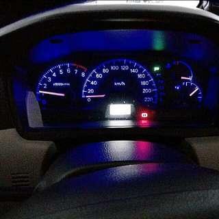CS3 Speedometer Led Lights And Interior Lights.