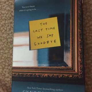 The Last Time We Say Goodbye hardcover