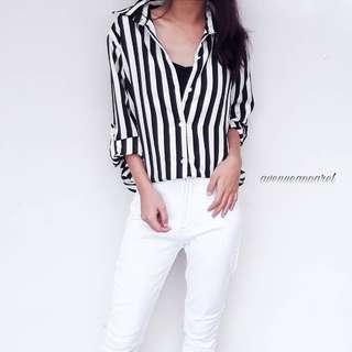 Jessy Stripes Blouse