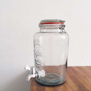 Kilner water dispenser