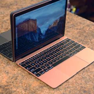 Macbook 12 inch Rose Gold 250GB