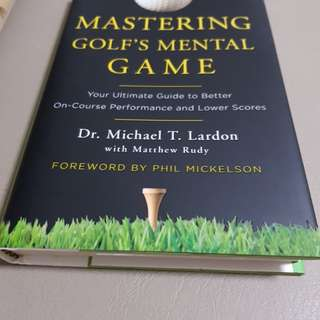 Book on golf mental game