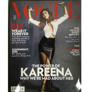 Fashion Magazine- Vogue India
