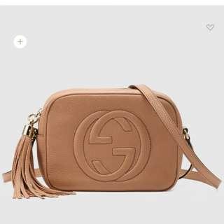 Gucci Soho Disco Bag inspired AAA GRADE