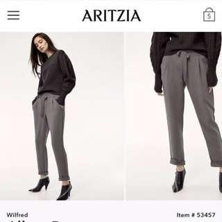 Aritzia Wilfred Allant Pants Size 4