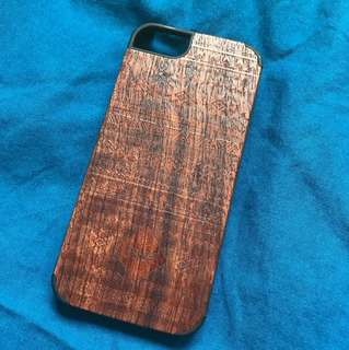 Wooden Cover Slipcase iPhone 5/5s