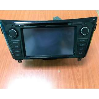 Nissan X-trail Original Touch Screen Radio