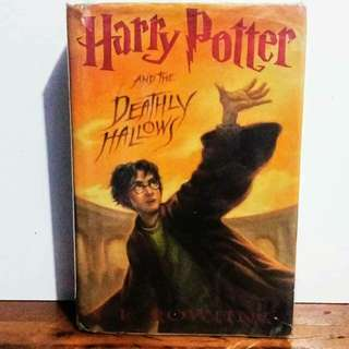 Harry Potter and the Deathly Hallows by JK Rowling HB