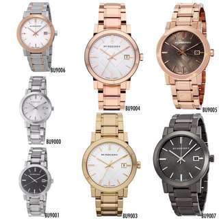 🆕Burberry The City Unisex Watches
