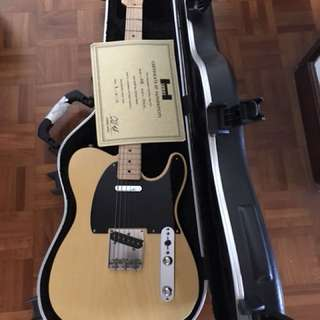 Hahn Guitars - USA made Tele style