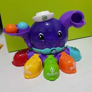 Leapfrog Peek a Shoe Octopus