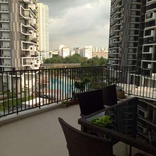 Common rm for rent at trilinq