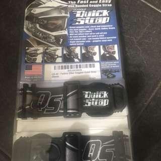 Quick strap helmet