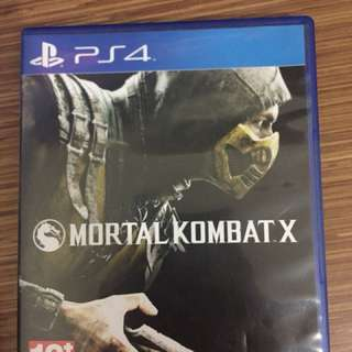 Jual Bd ps4 Mortal Kombat x