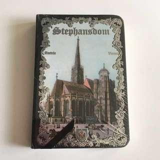 Austria Stephansdom note book