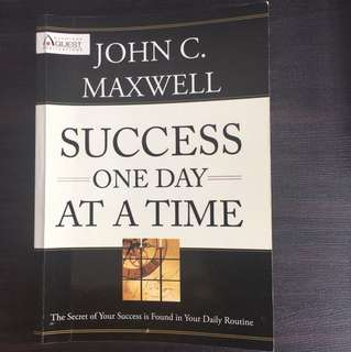 Success One day at a time