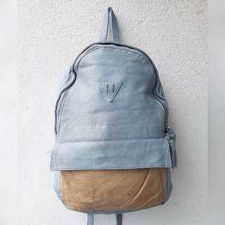 KOREAN BAGPACK GENUINE LEATHER