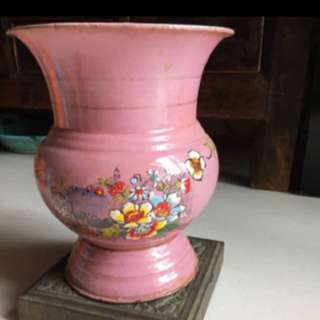 Peranakan Vintage Antique Spittoon