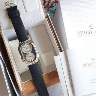 Philip Stein Dual Time XL men's