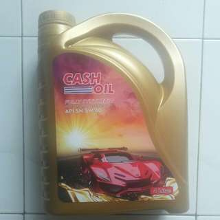 Cash Oil (Car Engine Oil)