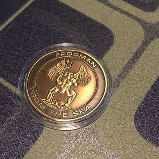 Weekend Promo: Singapore Naval Driver Frogman Challenge Coin