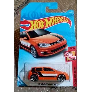 Hot Wheels Volkswagen Golf MK7
