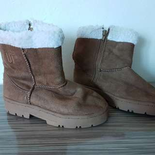 Kids winter shoe with fur - universal traveller size 32