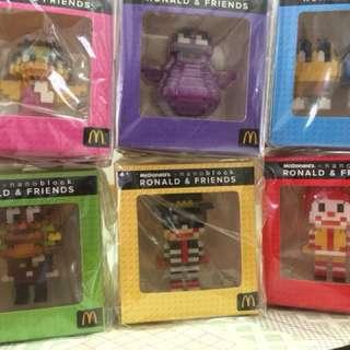 McDonald 2016 nanoblock Ronald & Friends