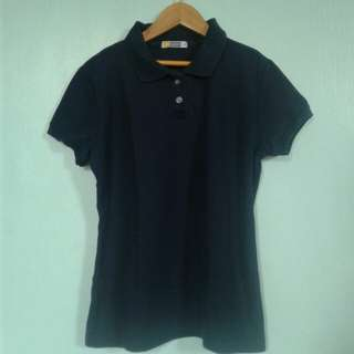 Basic Navy Blue Polo Shirt