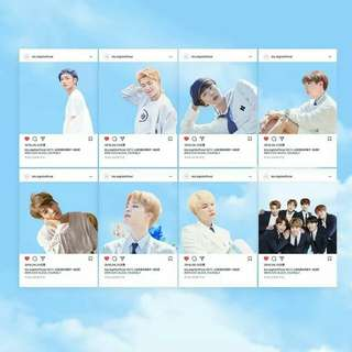 BTS Transparent Card (Set)
