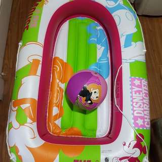 Mickey Mouse Floater with Kim Possible Beach Ball