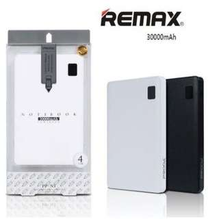 DEALS Remax Notebook Powerbank 30000mAh Travel Charger