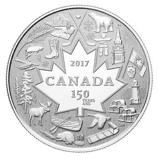 2017 PURE SILVER COIN HEART OF OUR NATION