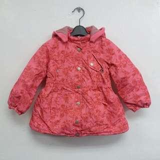 (減價) 👧 <Thermolite> Winter Girl's Padded Jacket (Fit for 4yrs old) 冬.女童隔棉外套 (適合4歲)