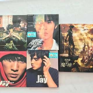 Jay Chou Original CDs