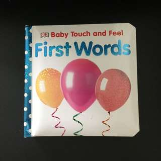 Baby touch and feel First Words book