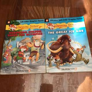 Geronimo Stilton Graphic novel books