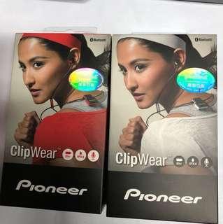 PIONEER WIRELESS IN-EAR HEADPHONES 藍牙無線耳機