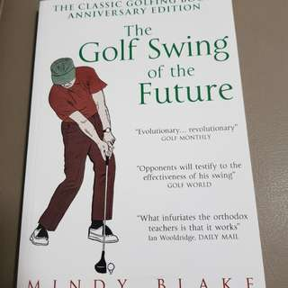 Book on golf swing