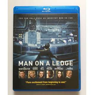 Man on a Ledge Blu Ray