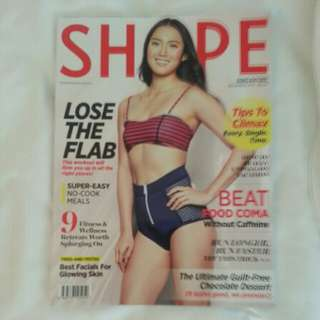 Shape magazine Dec 17