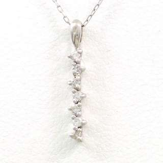 18k Diamond Necklace (Chain & Pendant)