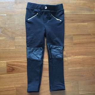 Brand new black pants for girl