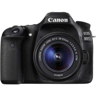 Canon EOS 80D Kit (18mm-55mm)