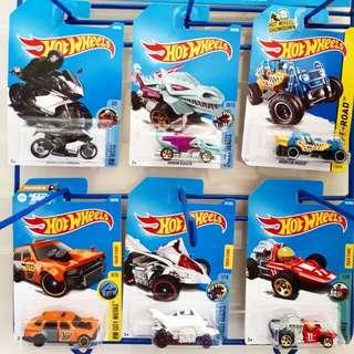 Set 6pcs Hotwheels Rp.139k