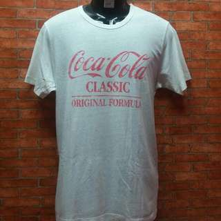 #15off Vtg rayon Coca Cola shirt
